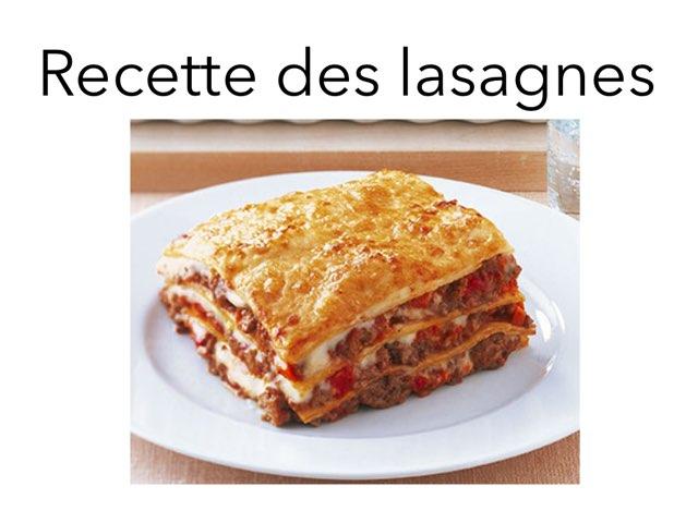 Les Lasagnes Delà Saja by Saja Enfant