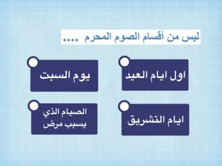 الصيام وأنواعه  by Abla Bashayer