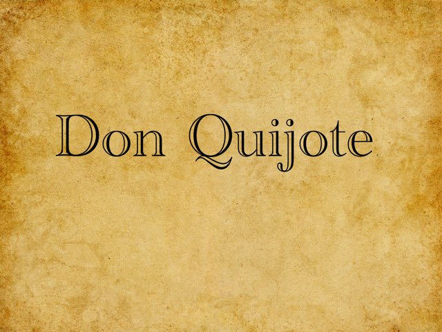 ¡Don Quijote! by Oliver Brew