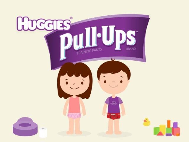 משחק הגמילה האגיס פול אפס by Huggies Pull-Ups