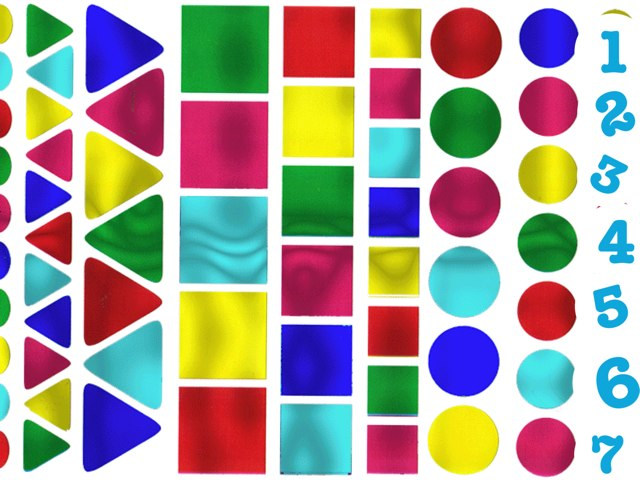 צורות ומספרים by Monica Alicia