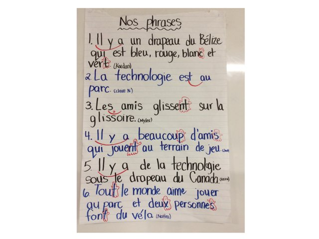 Phrases Bélize 1 à 6 by Natalie Stewart