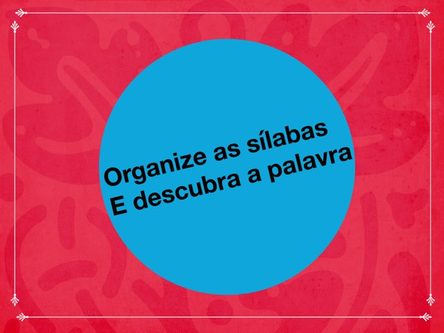 Quebra-cabeças De Sílabas by ۞Ste Lonza