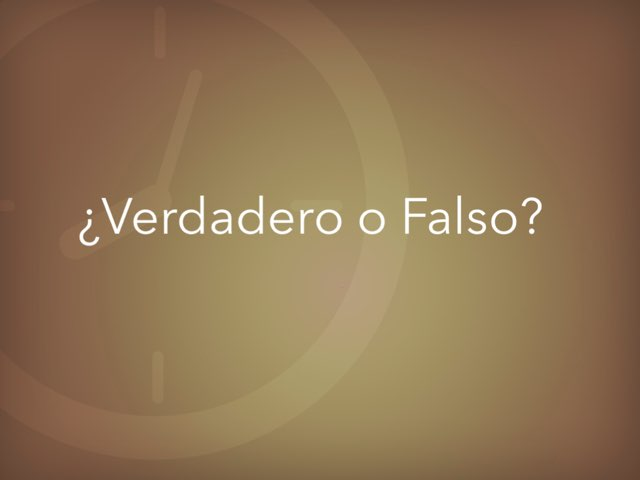 ¿Verdadero O Falso? by Juan  Fernández