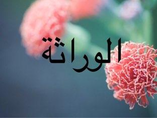 الوراثة by Tasneem Alamora