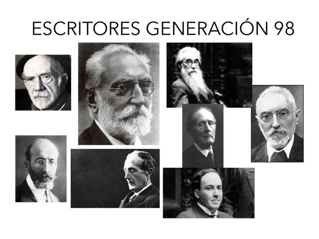 GENERACIÓN 98 by PALOMA GARCÍA