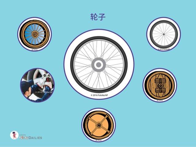 关于轮子的知识 by Kids Dailies