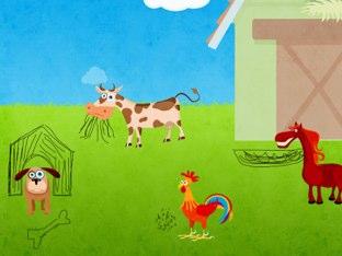 מה אוכלות החיות by faina reznikov