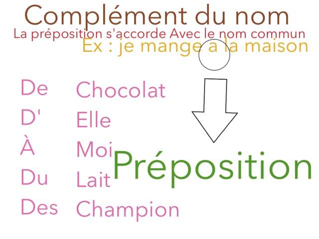 Complément Du non Et Les Proposition Relatif  by Patricia Piron