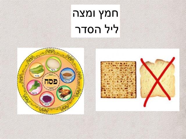 חמץ ומצה, ליל הסדר by Efrat Ilan