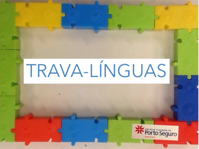 TRAVA-LÍNGUAS by Dani Bogolenta
