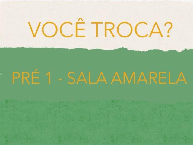 Você Troca Sala Amarela 2 by Renata oliveira