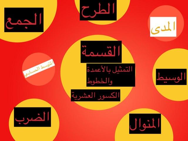 دروس منوعه من مادة الرياضيات by Ahad Almutiri