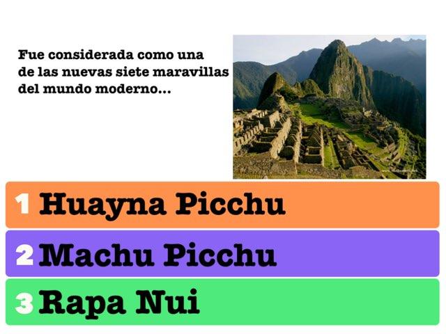 Viajando por el mundo - Perú  by Ana Maria Sclifó Barzanelli