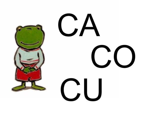 Imprégnation C + A, O, U by Valerie Escalpade