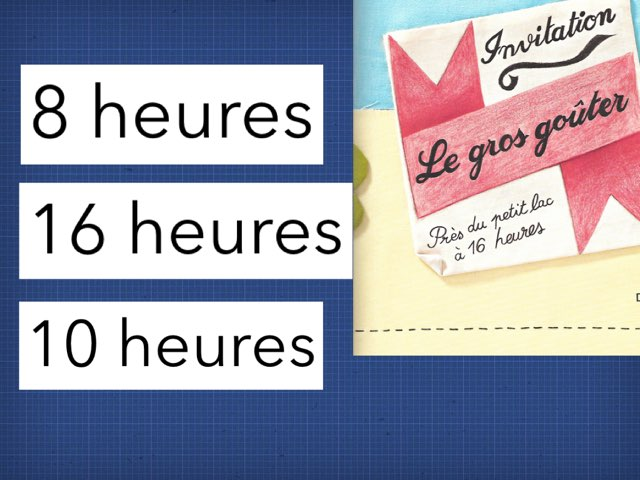 Quizz Le gros goûter  by Mélanie Cornet
