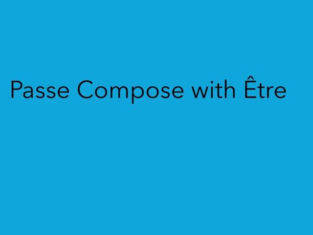 Passé compose with Être by LNCharter FHS