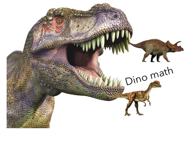Dino Hunting Of Math For You To Injoy by Courtney Lewis