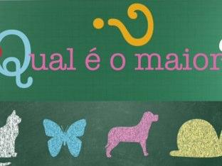 Qual É O Maior? by Manoela Martedi