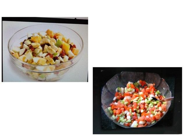 מכינים סלט ירקות by ירדנה לוין
