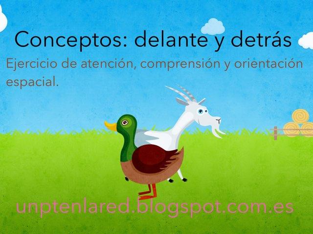 Delante Y Detrás. by Jose Sanchez Ureña