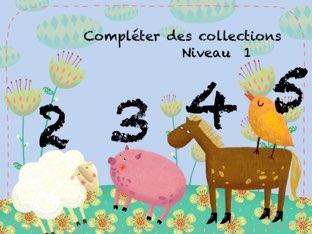 Compléter Des Collections 1  by Marie S