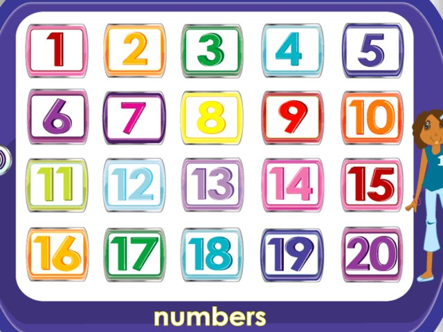 Números by Bodil Gutedal