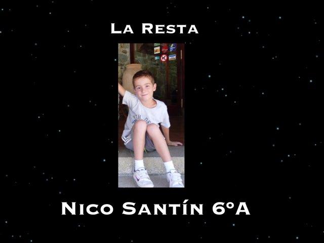 La Resta Nico Santín 6ºA by Nico Santín