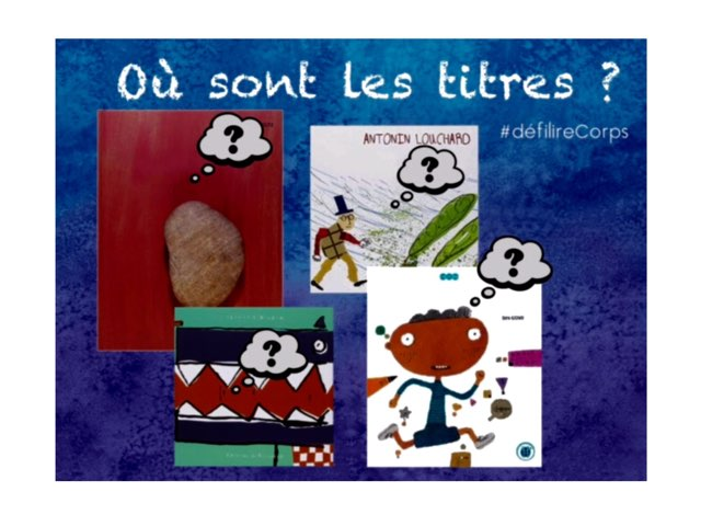 #DéfilireCorps2016 Titres by Claire Marotine