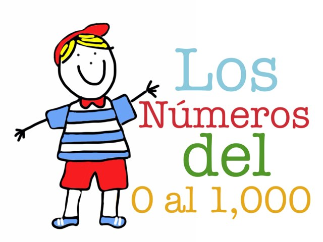 Números del 0 al 1.000 by Cristina Mella