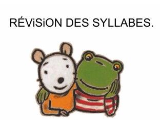 Révision Syllabes by Valerie Escalpade