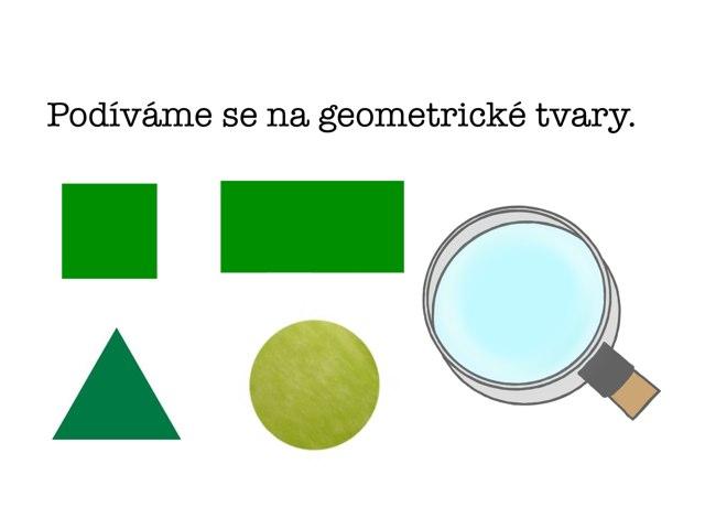 Geometrické Tvary by Věra Gošová