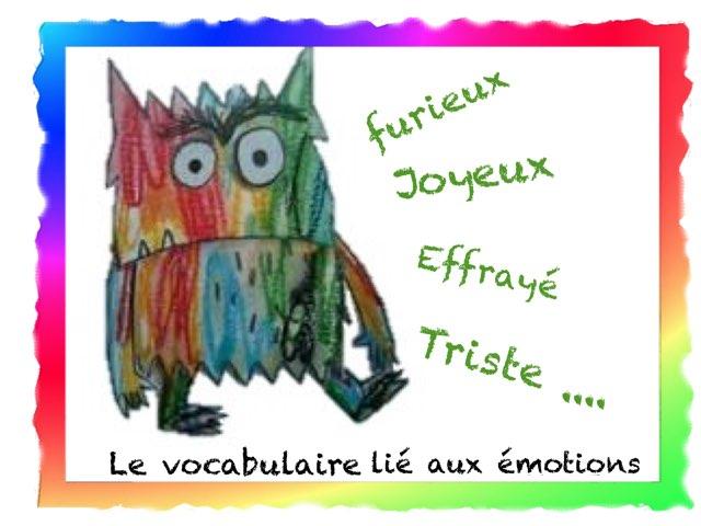 Le Vocabulaire Lié Aux Émotions by Marie S