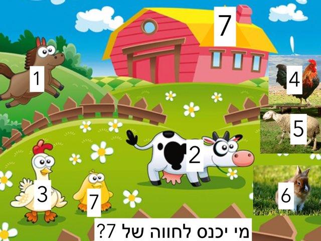 מי יכנס לחווה של 7 by Sara Zigelbaum
