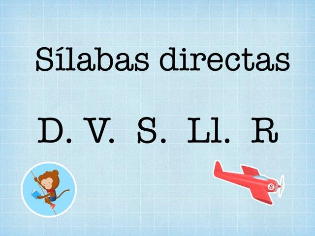 Sílabas D V. S. Ll. R by Pao Mancera
