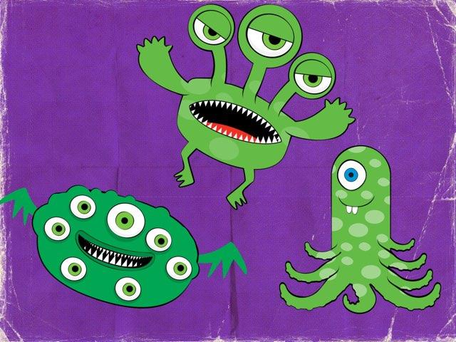 Monstres à Compter by Anne-Laure Chuzel