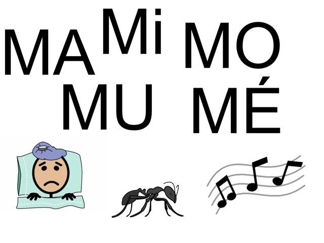 Mots à compléter avec MA Mi MO MU MÉ. by Valerie Escalpade