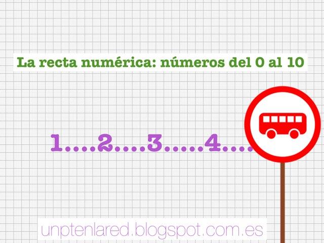 La Recta Numérica Del 0 Al 10 by Jose Sanchez Ureña