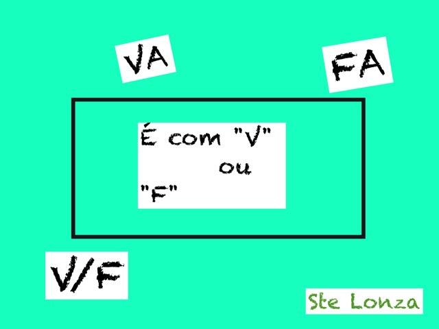 """É Com """"V"""" Ou Com """"F"""" by ۞Ste Lonza"""