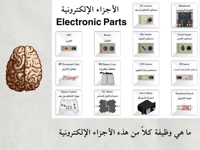 الأجزاء الإلكترونية Electronic Parts by Alialsalem school