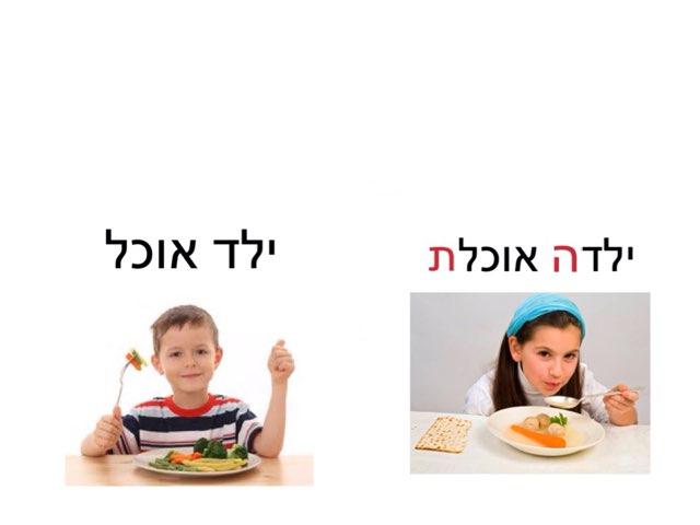 זכר נקבה ילד ילדה פעלים by Sapir Ke