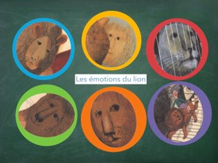 Lion Et Émotions by véronique Favre