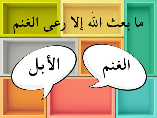 رعي الغنم  by Dalal Al-rashidi