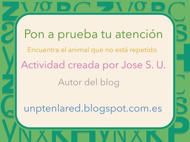 Encuentra El Que No Está Repetido by Jose Sanchez Ureña