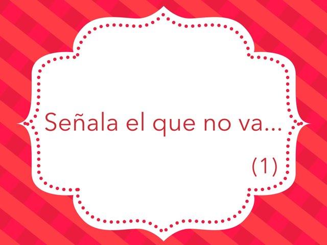 Señala El Que No Va (1) by Zoila Masaveu