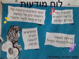 משפחת מילים- שיבוץ מילים במודעות by meirav gamliel