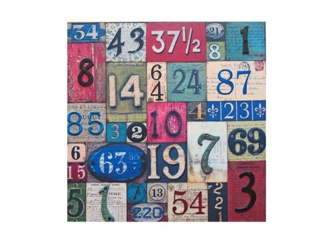 Los Números by Amy keup
