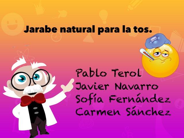 3º A Grupo 6 Jarabe para  la tos. by Carmen Sanmartin