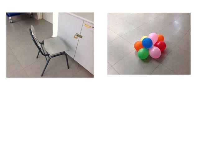 בלונים כיסא by Rami Seh