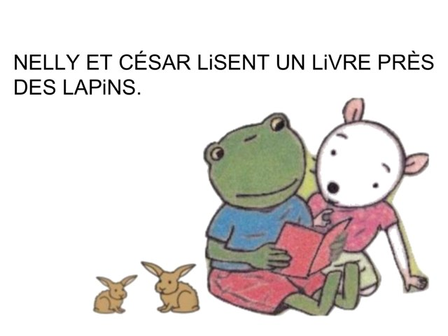 Syllabes LA Li LO LU LÉ by Valerie Escalpade